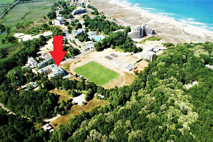 Апартаменти за гости Солей Приморско-отлична локация на метри от плажа на ММЦ Приморско
